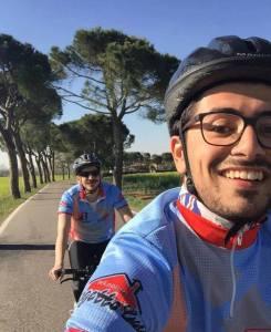 giulio e vincent - ciclismo