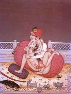 kamasutra, codice indiano dell' amore