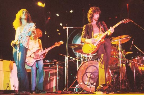 I Led Zeppelin in tutto il loro