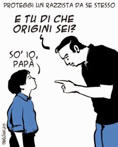 Come sempre, il talento di Mauro BIANI per Il Manifesto, 17 Marzo 2015
