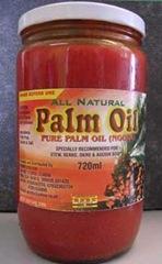Olio di palma grezzo