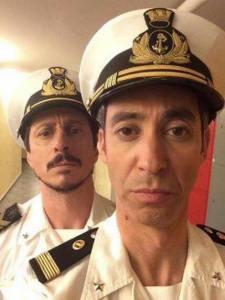 Il duo comico Luca&Paolo nelle vesti dei due marò.