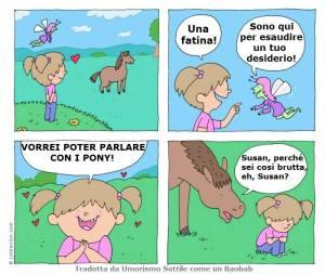 Bambina vs pony