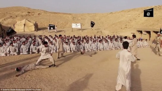 campo di addestramento dell'Isis