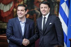 Tsipras Renzi