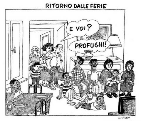 Giannelli satira razzismo