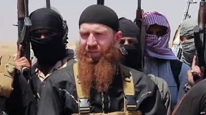 Omar Al-Shishani, capo ceceno dell'Isis
