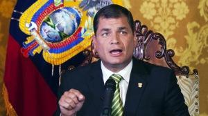 Il Presidente ecuadoriano Rafael Correa (Reuters/Guillermo Granja) / Reuters