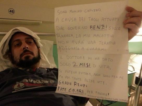 Ermes Maiolica bufala malato Renzi