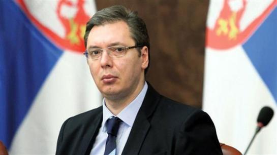 Il Primo Ministro serbo Aleksandar Vucic