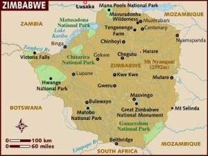 map_of_zimbabwe