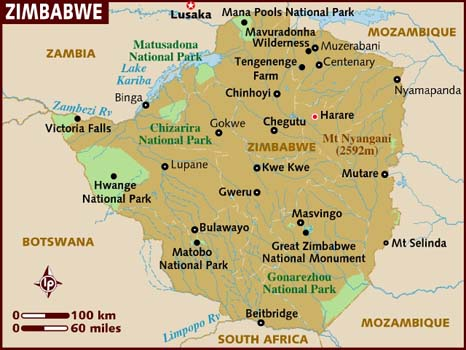 map_of_zimbabwe